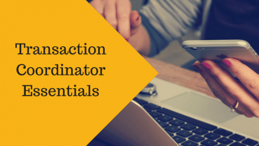 TCE - Transaction coordinator essentials