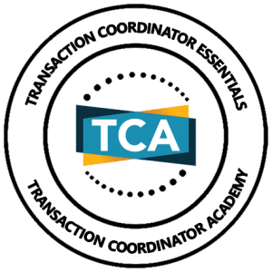 transaction coordinator training
