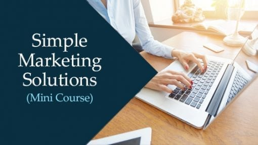 In this course, you'll learn simple online, offline and in person marketing techniques that work.