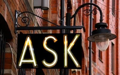 Just Ask – That's All it Takes
